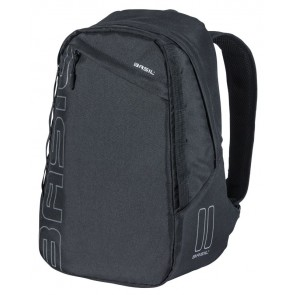 Plecak BASIL FLEX BACKPACK 17L, mocowanie na haki Hook-On System, czarny (NEW)