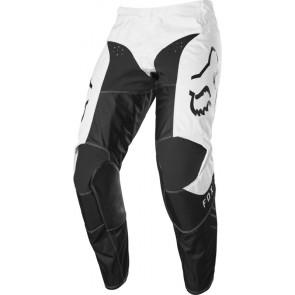 Spodnie Fox 180 Prix White/black