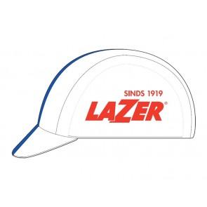 Czapka LAZER biało-niebieska rozm. L