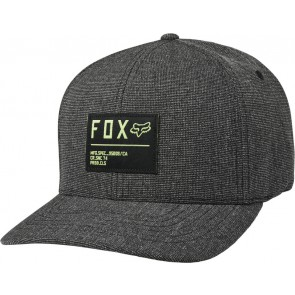 Czapka Z Daszkiem Fox Non Stop Flexfit Black/green S/m