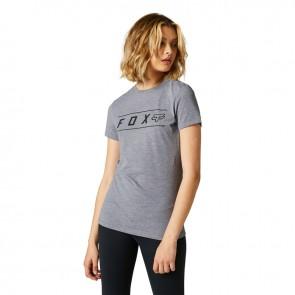 T-shirt FOX Lady Pinnacle Tech szary