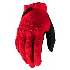 Rękawiczki 100% GEOMATIC Glove red roz. XL (długość dłoni 200-209 mm) (NEW)