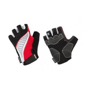 Accent Rękawiczki Wave czerwono-biało-czarne XXL