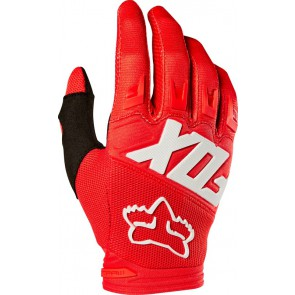 Fox Rękawiczki Junior Dirtpaw Race Red