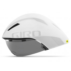 Kask czasowy GIRO AEROHEAD INTEGRATED MIPS matte white silver roz. S (51-55 cm) (NEW)