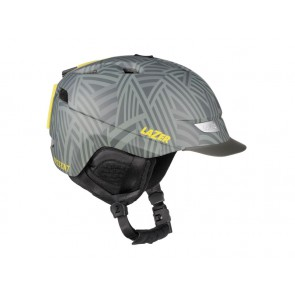 Kask zimowy LAZER DISSENT shatter grey matte S (52-56cm)
