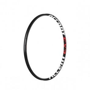 """Accent Obręcz EXE 29"""" 32 otwory, czarno-biało-czerwona, szerokość 28,5mm, tubeless ready"""