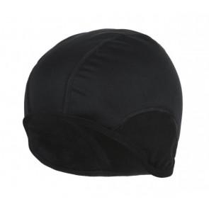 Accent Czapka kolarska Softshell czarna, L/XL
