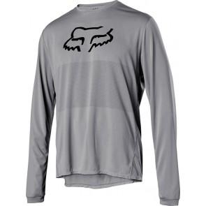 Koszulka Rowerowa Fox Z Długim Rękawem Ranger Foxhead Steel Grey