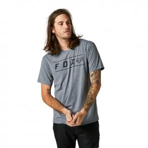 T-shirt FOX Pinnacle Tech szary