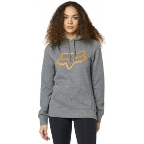 Bluza Fox Lady Z Kapturem Centered Grey/orange