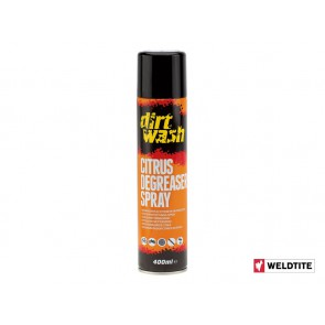 WELDTITE DIRTWASH Citrus Degreaser Aerosol Spray 400ml