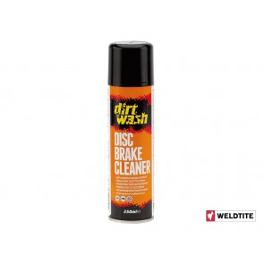 WELDTITE DIRTWASH disc brake cleaner spray 250ml