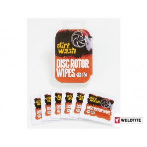 WELDTITE DIRTWASH disc rotor wipes 6szt.