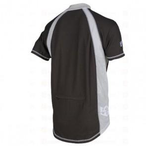 ROYAL Koszulka ENDURO czarno szara XL