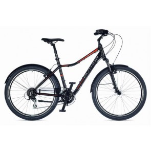 """RAPID 17"""" czarno-pomarańczowo/czarny rower AUTHOR"""
