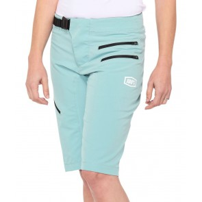 Szorty damskie 100% AIRMATIC Women's Shorts seafoam
