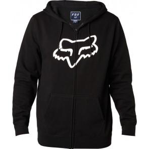 Bluza Fox Z Kapturem Na Zamek Legacy Foxhead Black M