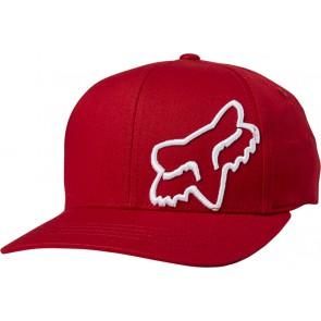 Czapka z daszkiem FOX Flex 45 Flexfit S/M czerwony