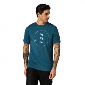 T-shirt FOX Clean Up  Tech niebieski