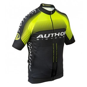Koszulka AUTHOR Men Sport X7 ARP czarno-żółta L