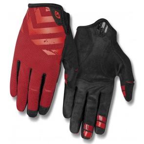Rękawiczki męskie GIRO DND długi palec dark red birght red roz. M (obwód dłoni 203-229 mm / dł. dłoni 181-188 mm) (NEW)
