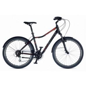 """RAPID 21"""" czarno-pomarańczowo/czarny rower AUTHOR"""