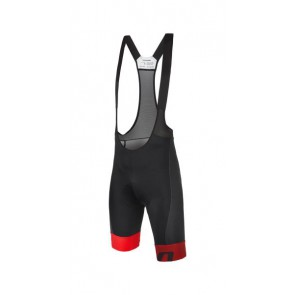 Bluza kolarska Vector, czarno-czerwona, rozmiar XL