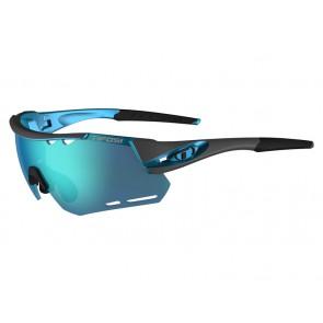 Okulary TIFOSI ALLIANT CLARION gunmetal blue (3szkła Clarion Blue LUSTRO 14,7% transmisja światła, AC Red, Clear) (NEW)