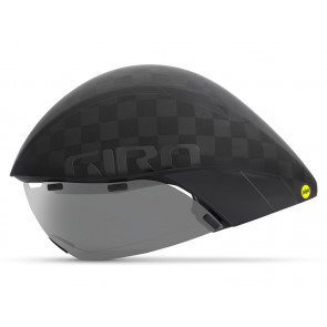 Kask czasowy GIRO AEROHEAD ULTIMATE INTEGRATED MIPS matte black gloss black roz. L (59-63 cm) (NEW)