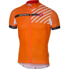 Castelli Koszulka kolarska AR 4.1, pomarańczowa,