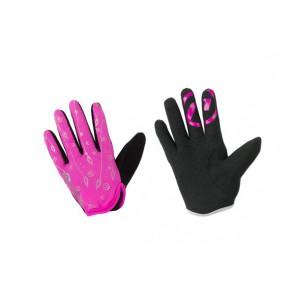 Accent Rękawiczki dziecięce Elsa różowe L/XL