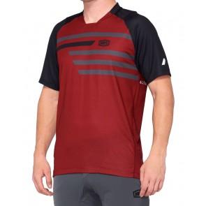 Koszulka męska 100% CELIUM Jersey krótki rękaw brick black