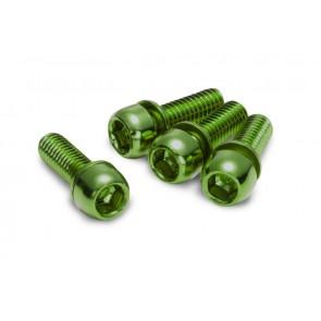 Śruby Reverse M6x18 zielone