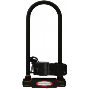 Zapięcie rowerowe MASTERLOCK 8195LW U-LOCK 13mm 110mm 280mm KLUCZYK czarne