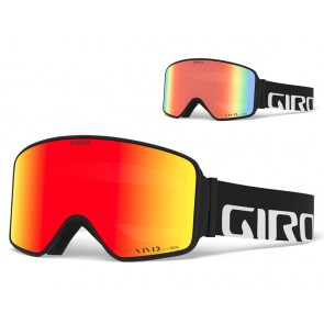 Gogle zimowe GIRO METHOD BLACK WORDMARK (Szyba lustrzana kolorowa VIVID-Carl Zeiss VIVID EMBER 36% S2 + Szyba lustrzana kolorowa VIVID-Carl Zeiss INFRARED 58% S1) (NEW 2020) (DWZ)