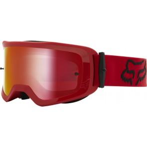 FOX GOGLE  MAIN STRAY RED - SZYBA SPARK RED (1 SZYBA W ZESTAWIE)