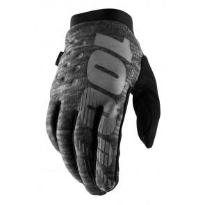 Rękawiczki 100% BRISKER Cold Weather Glove Heather grey roz. S (długość dłoni 181-187 mm) (NEW)