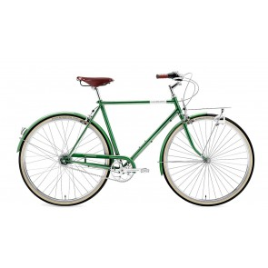 Creme Cycles Rower CAFERACER MAN DOPPIO DARK GREEN 7s M 55