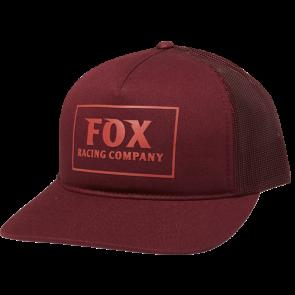 Czapka Z Daszkiem Fox Lady Heater Cranberry Os