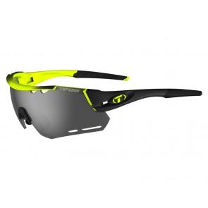 Okulary TIFOSI ALLIANT race neon (3szkła Smoke 15,4% transmisja światła, AC Red, Clear) (NEW)
