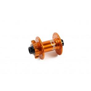 Hope Piasta przednia Pro 4 Evo 15mm 36h Pomarańczowa