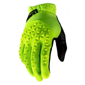 Rękawiczki 100% GEOMATIC Glove fluo yellow roz. M (długość dłoni 187-193 mm) (NEW)