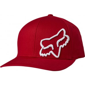 Czapka z daszkiem FOX Junior Flex 45 Flexfit czerwony