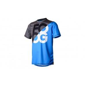 "FOOG T-Shirt ""Tea Party"" Blue L #promo"