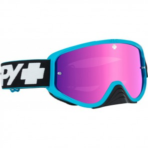 Spy Gogle Woot Race Slice Blue Smoke Pink Spectra + Clear AFP