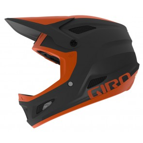 GIRO DISCIPLE INTEGRATED MIPS matte warm black deep orange kask