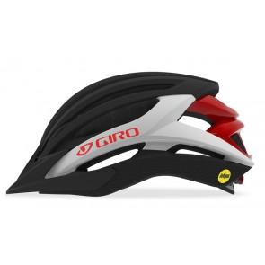 GIRO ARTEX INTEGRATED MIPS matte black white red kask