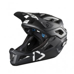 Leatt DBX 3.0 Enduro Black White kask-M