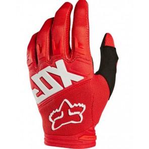 Fox 2018 Dirtpaw Race rękawiczki czerwone